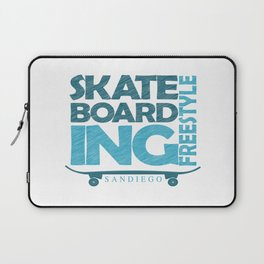 Skateboarding Freestyle San Diego Laptop Sleeve