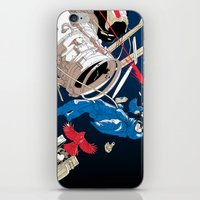gravity iPhone & iPod Skins featuring gravity by wonman kim