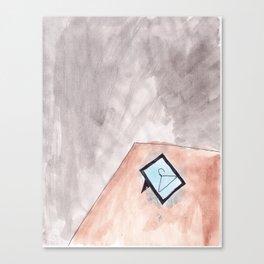 DESK Canvas Print