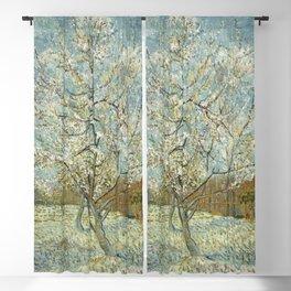 Vincent van Gogh - The Pink Peach Tree Blackout Curtain