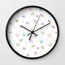 Happy Little Stars Wall Clock