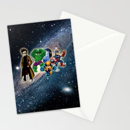 Tardis Super Hero Stationery Cards