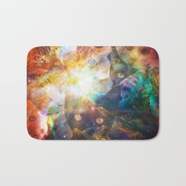 The Cat Galaxy Bath Mat