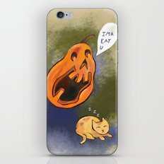Kitty watch out! iPhone & iPod Skin