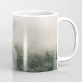 Forest Fog Photography | Woods | Misty | Mist | Forest Dew | Kaszuby Canada | Nature Photography Coffee Mug