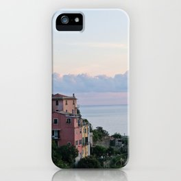 Cirque Terre at Dusk iPhone Case