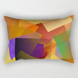 The dark dot Rectangular Pillow