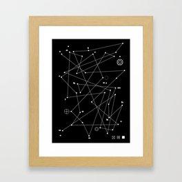 Raumkrankheit Framed Art Print