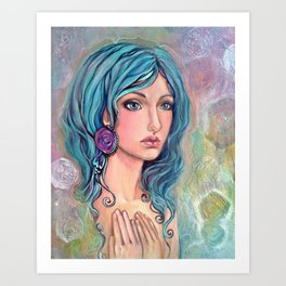 Gypsy Hearted Art Print