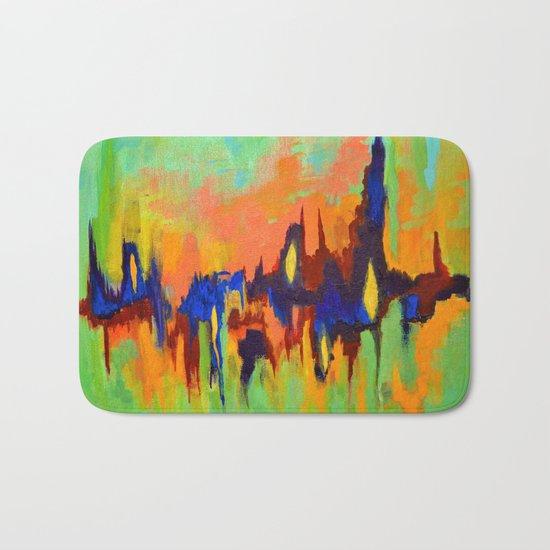 The Color of Sound Bath Mat