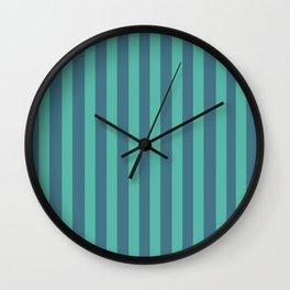 Pyjama Stripes Wall Clock