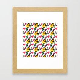 Good Vibes! Framed Art Print