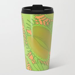 Free Hugs (Venus flytrap - Orange) Travel Mug