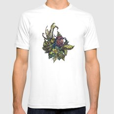 Little Bird SMALL Mens Fitted Tee White