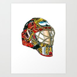 Lalime - Mask Art Print