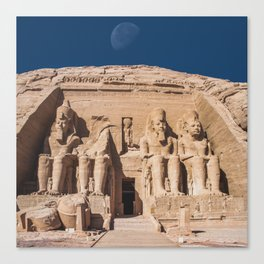 Ramses 2nd Canvas Print