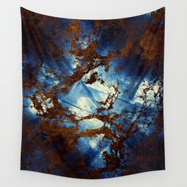 Sapphire & opal textures Wall Tapestry