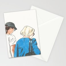 Walking To Port Stationery Cards