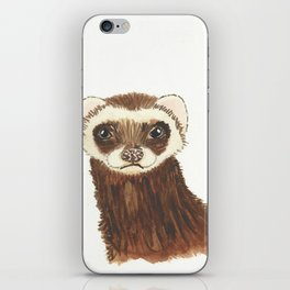 Disappointed Ferret iPhone Skin