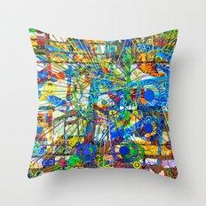Joy (Goldberg Variations #14) Throw Pillow