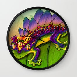 'Kizzsaurus' Wall Clock