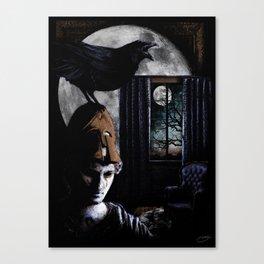 """The Raven"" - Edgar Allan Poe Series Canvas Print"