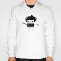 edward scissorhands Hoodies featuring Edward Scissorhands by Francesco Dibattista