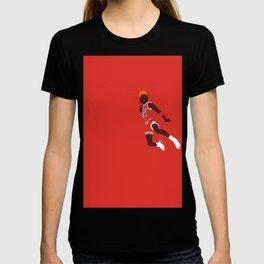 Jordan free throw dunk - illustration T-shirt