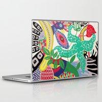 rio de janeiro Laptop & iPad Skins featuring rio de janeiro 1 by Maca Salazar