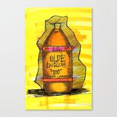 40 ounce. Canvas Print