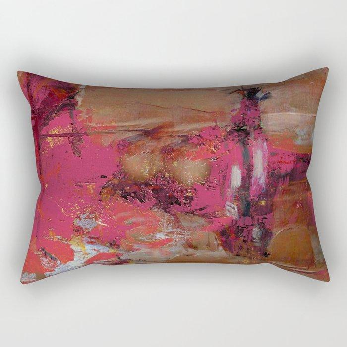 Mud Wall Rectangular Pillow
