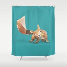 Squirrel. Shower Curtain