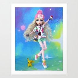 Trainer Katherine Art Print