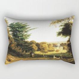 Tardis Art Summer Painting Rectangular Pillow