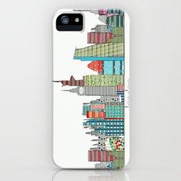 London city skyline  iPhone Case
