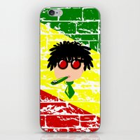 reggae iPhone & iPod Skins featuring Reggae Kazoo by mailboxdisco