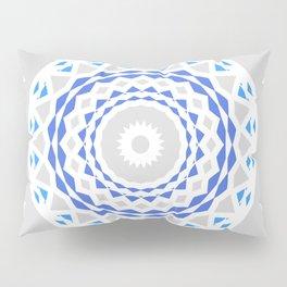 Radial Geometry Pillow Sham
