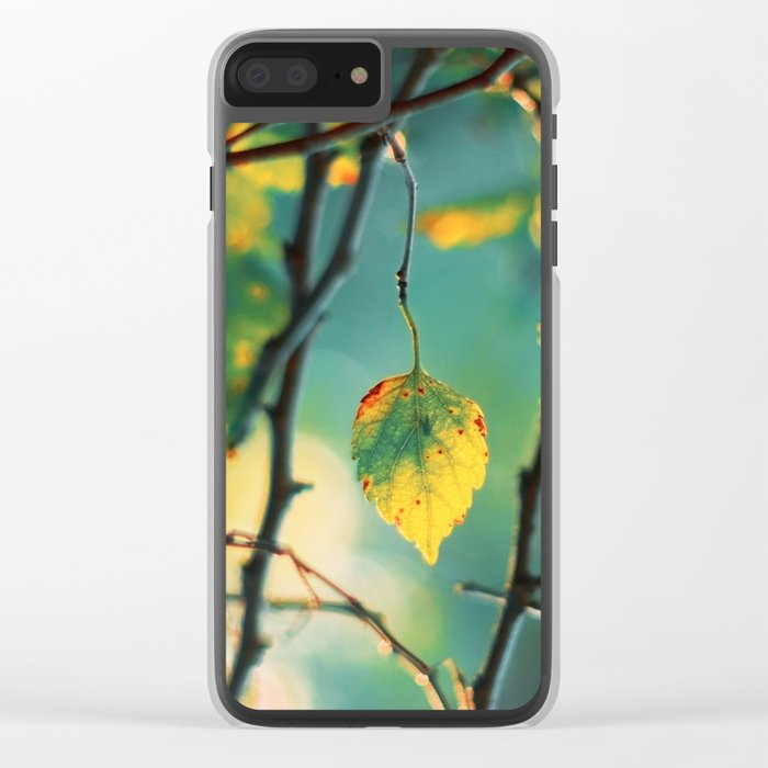 Son of the Forest Clear iPhone Case