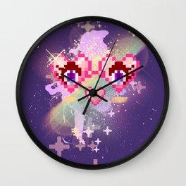 Heartglasses Wall Clock