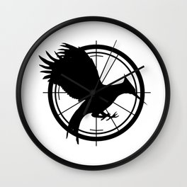 Catching Fire MockingJay  Wall Clock
