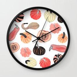 Pumpkin Party Wall Clock