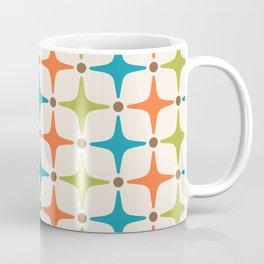 Mid Century Modern Star Pattern 821 Coffee Mug