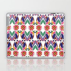 Gypsy Floral on White Laptop & iPad Skin