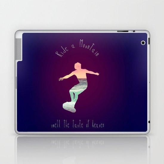 RIDE A MOUNTAIN Laptop & iPad Skin