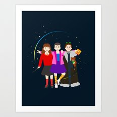 Stranger Friends Art Print