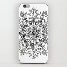 Thrive - Monochrome Mandala iPhone & iPod Skin