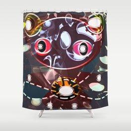 Montii gremlin Shower Curtain