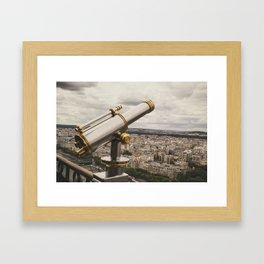 Much to discover Framed Art Print