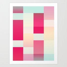 Abstract Dawn Art Print