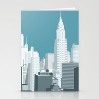 manhattan Stationery Cards featuring Manhattan by mauromod